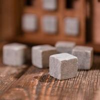Камни для виски натуральный стеатит 9 шт (гсм)